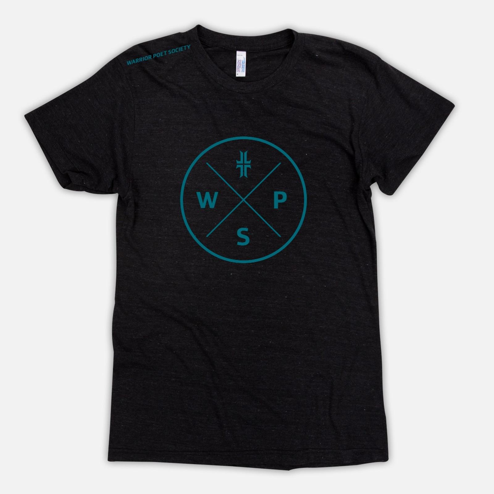 Badge T-Shirt - Black / Teal