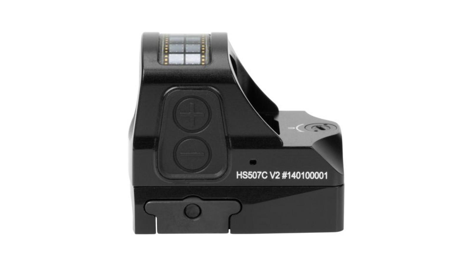 HS507C X2 Open Reflex Pistol Sight - Holosun