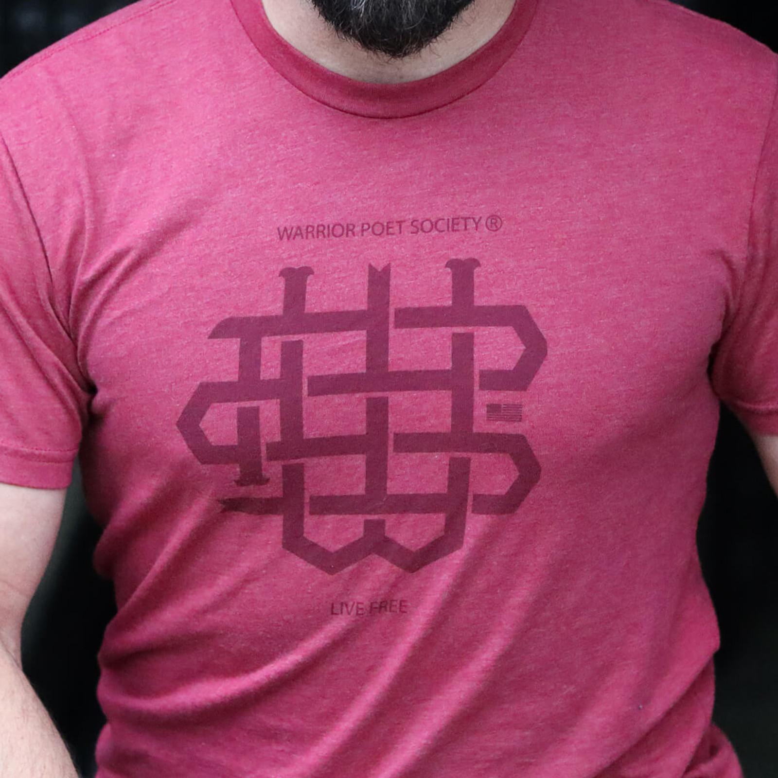 WPS Monogram T-Shirt - Brandy