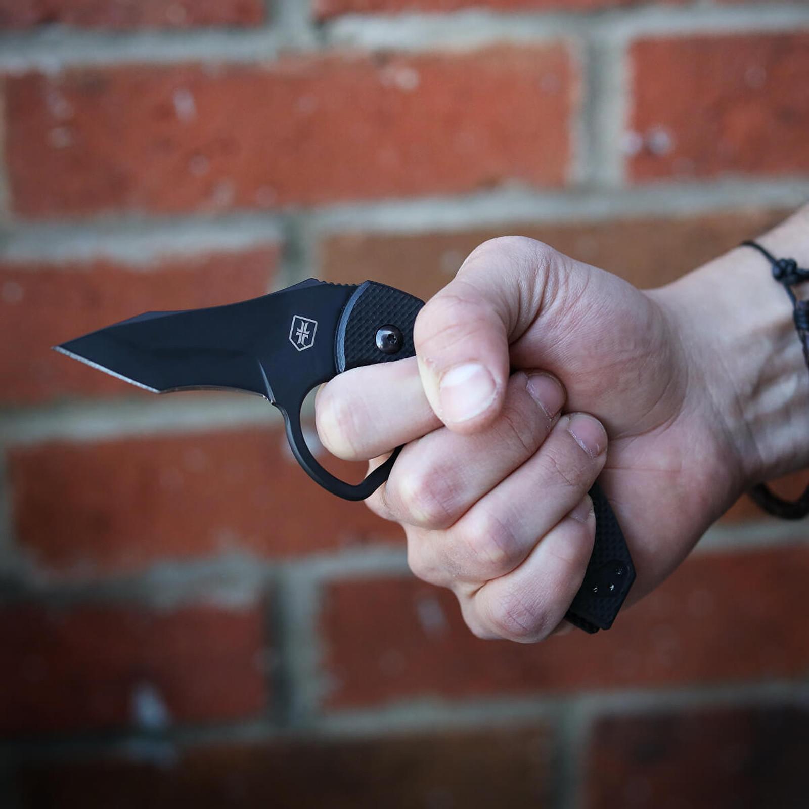 WPS Fox Folder Knife - Black