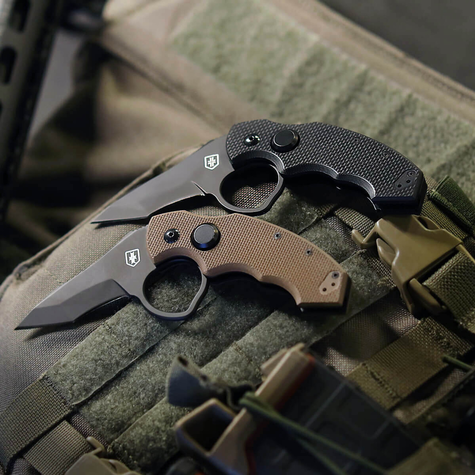 WPS Fox Folder Knife - Coyote