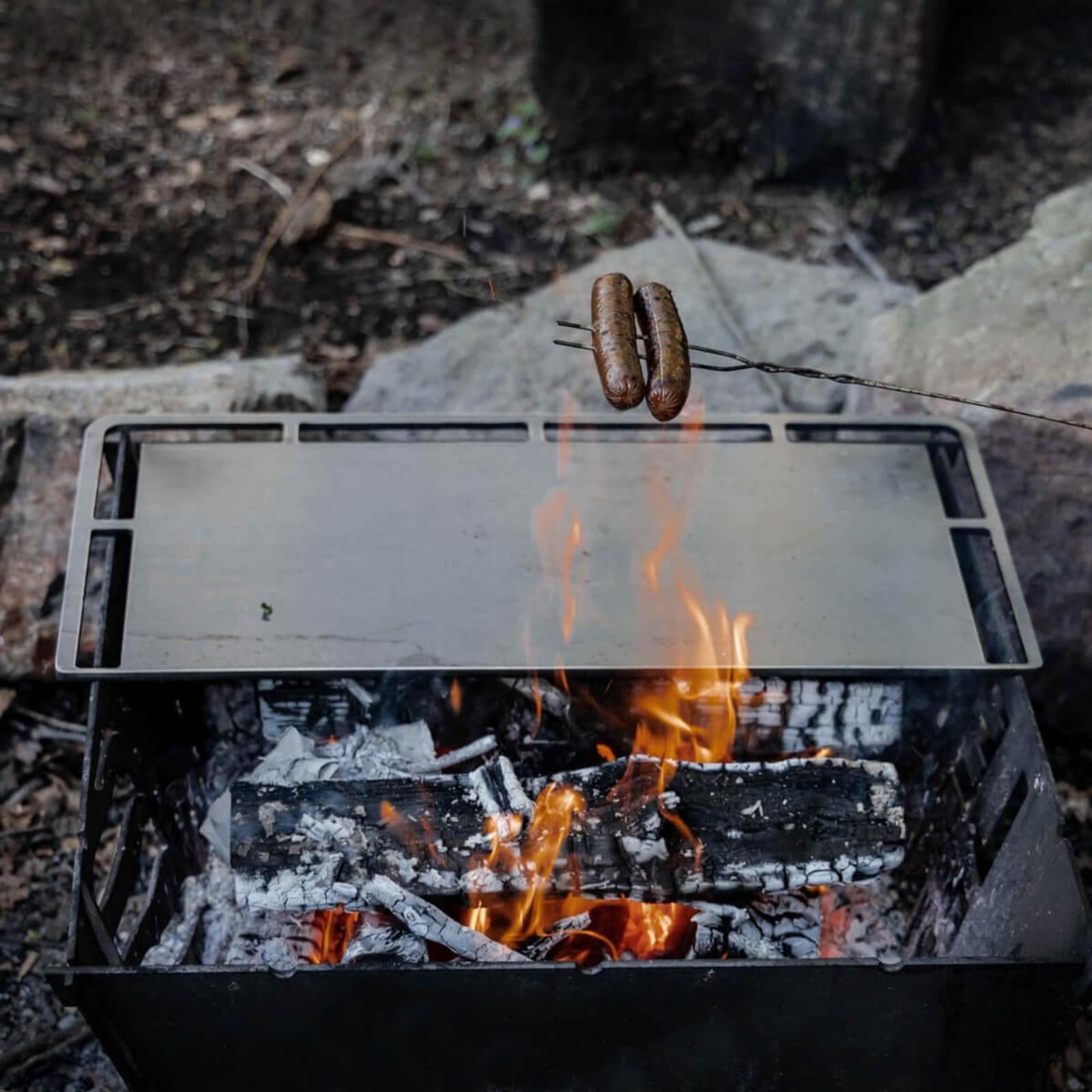 WPS Firebox Cooking Skillet