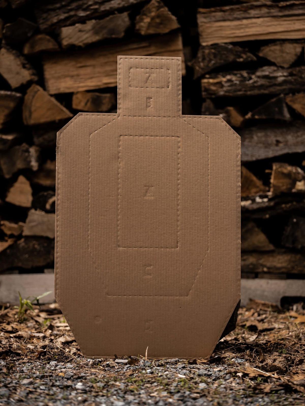 USPSA Cardboard Targets