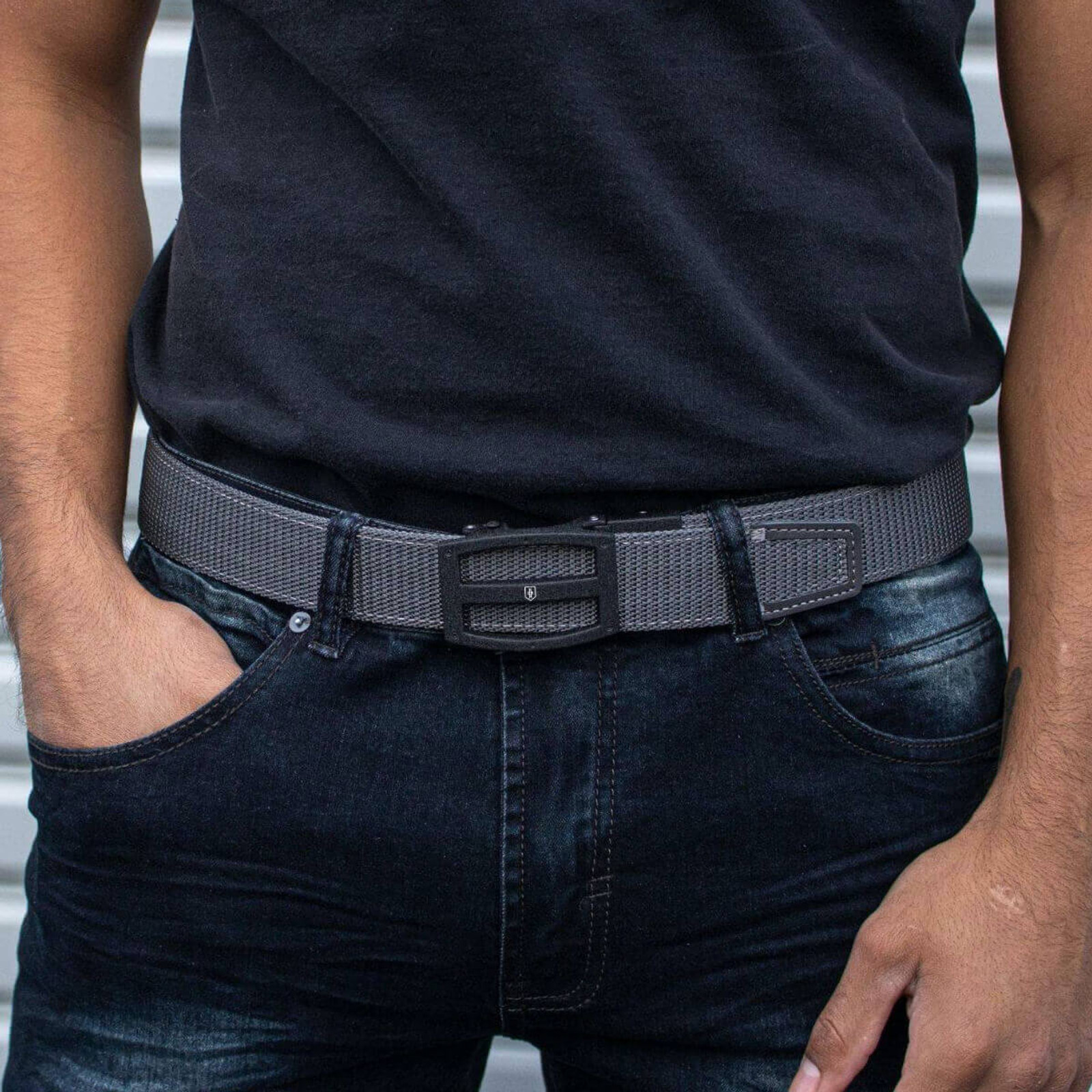 WPS Titan Shield Belt Grey - Nexbelt