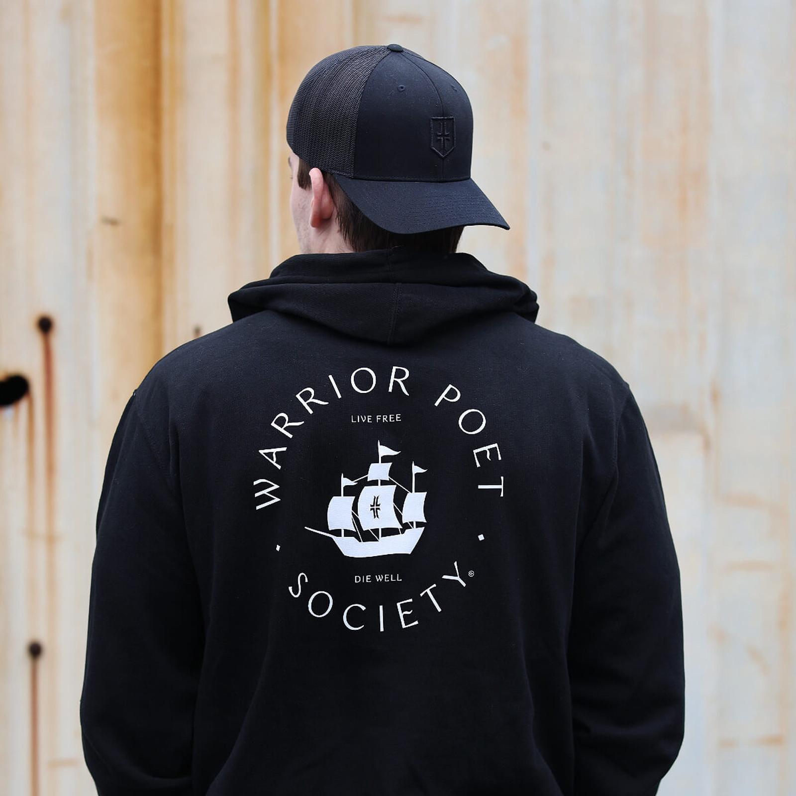 Rough Seas Hoodie - Black