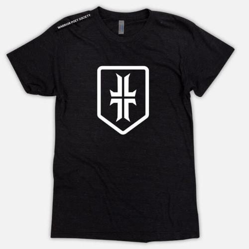 Shield T-Shirt - Black / White