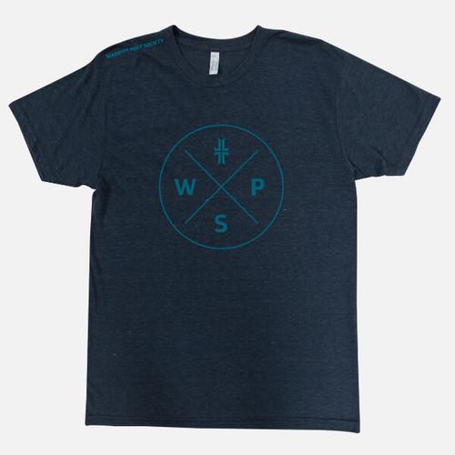 Badge T-Shirt - Navy / Teal