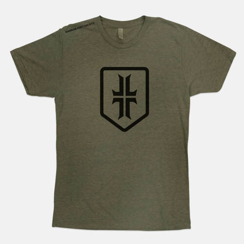 Shield T-Shirt - Green / Black
