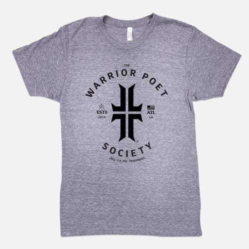 Trademark T-Shirt - Grey / Black
