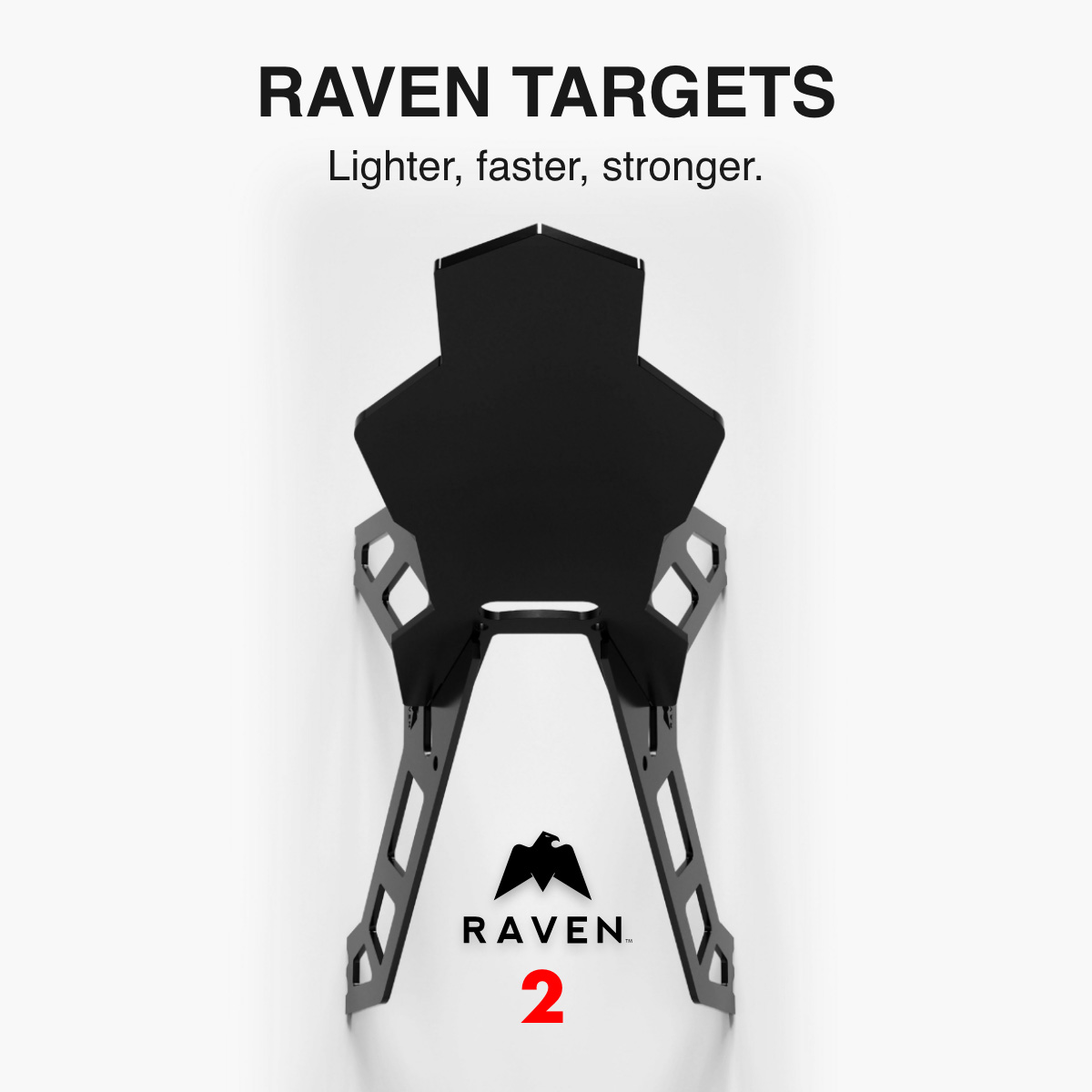 RAVEN AR550 Steel Target