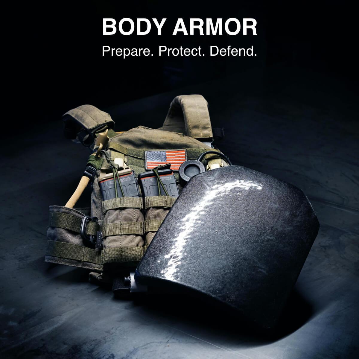 Body Armor, Plate Carriers & Ballistic Plates