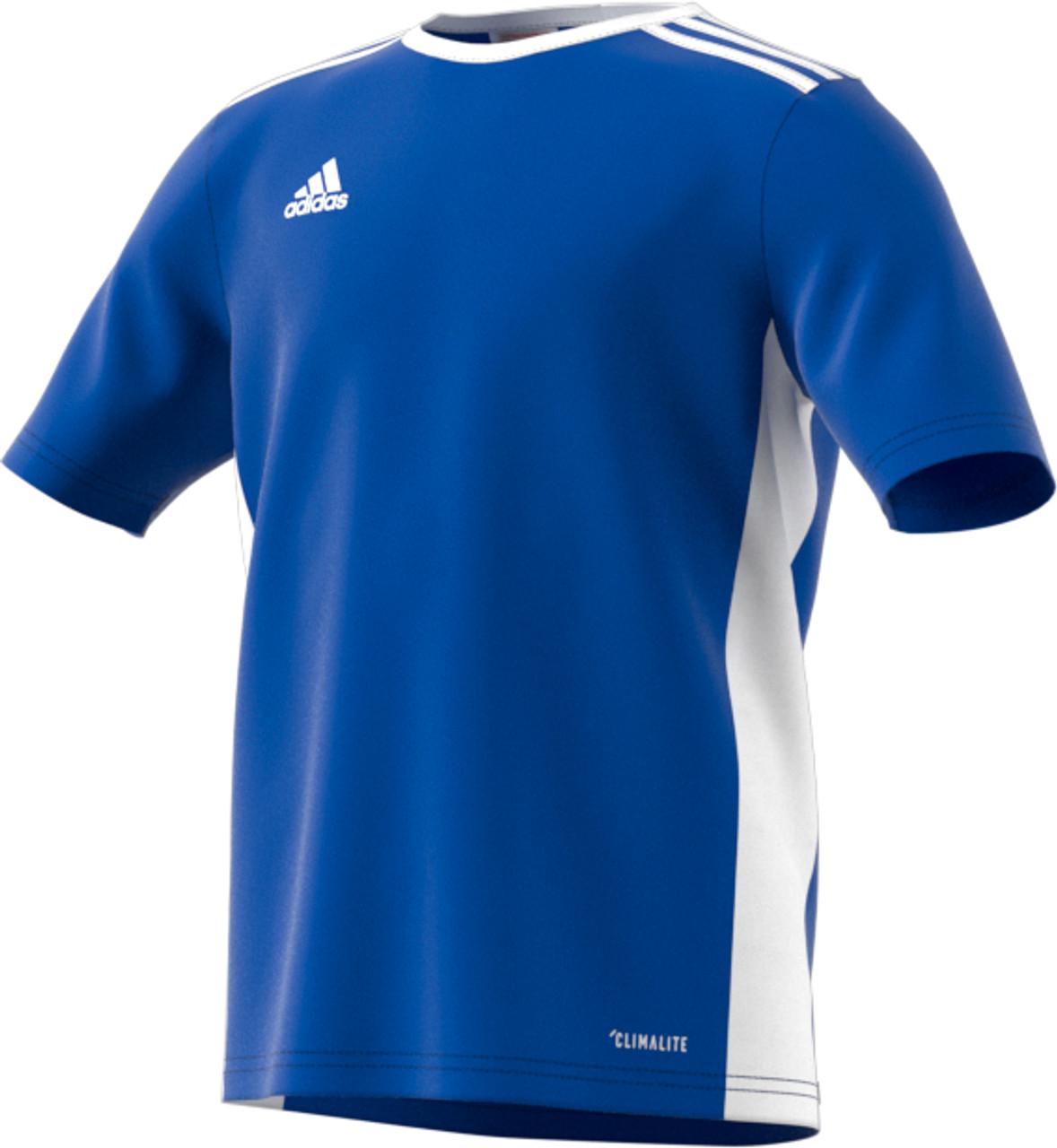 5b179320226 Adidas Entrada 18 Jersey  ADULT - DTI Sports