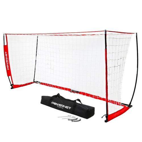 PowerNet Portable Soccer Goal: 6.5'H x 18.5'W