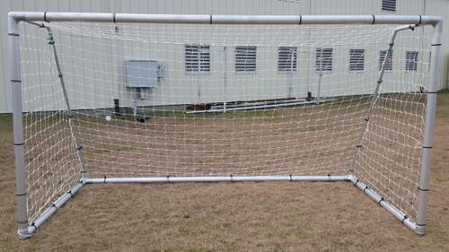 PEVO Economy Series Soccer Goals: 6.5' x 12' (PAIR)