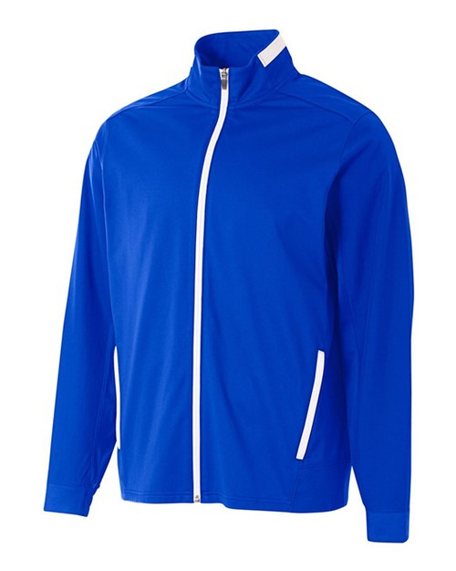 League Full Zip Warm Up Jacket: ADULT