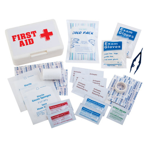 First Aid Kit with Ice Pack