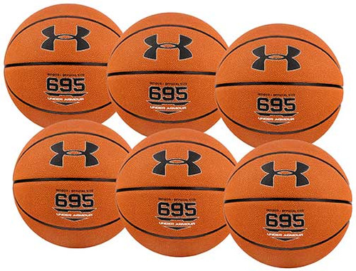Under Armour  695 Game Basketball (Case of 6)