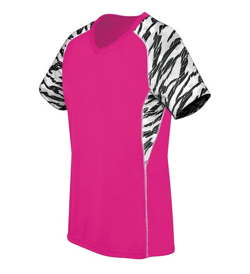 High Five Evolution Printed Jersey: GIRLS