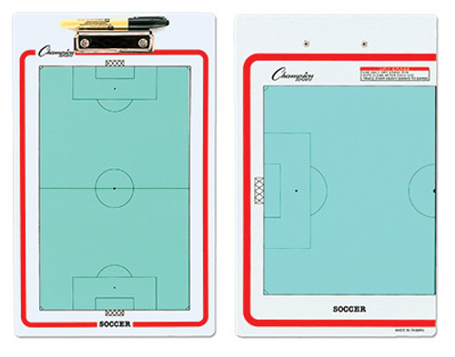 Dry Erase Soccer Clipboard