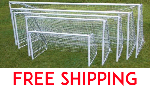All Star Soccer Goals: 8' x 24' (PAIR)