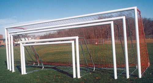 Touchline Soccer Goals: 7' x 21' (PAIR)