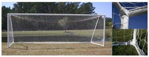 PEVO Channel Series Soccer Goals: 6' x 12' (PAIR)