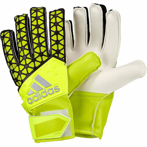 Adidas Ace Junior Goal Keeper Gloves: Yellow