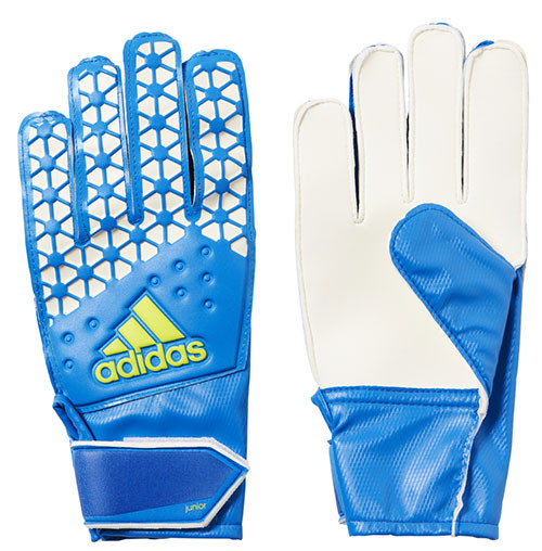 Adidas Ace Junior Goal Keeper Gloves: Blue