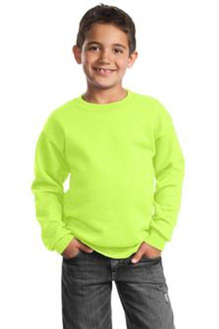 Essential Fleece Crewneck Sweatshirt: YOUTH
