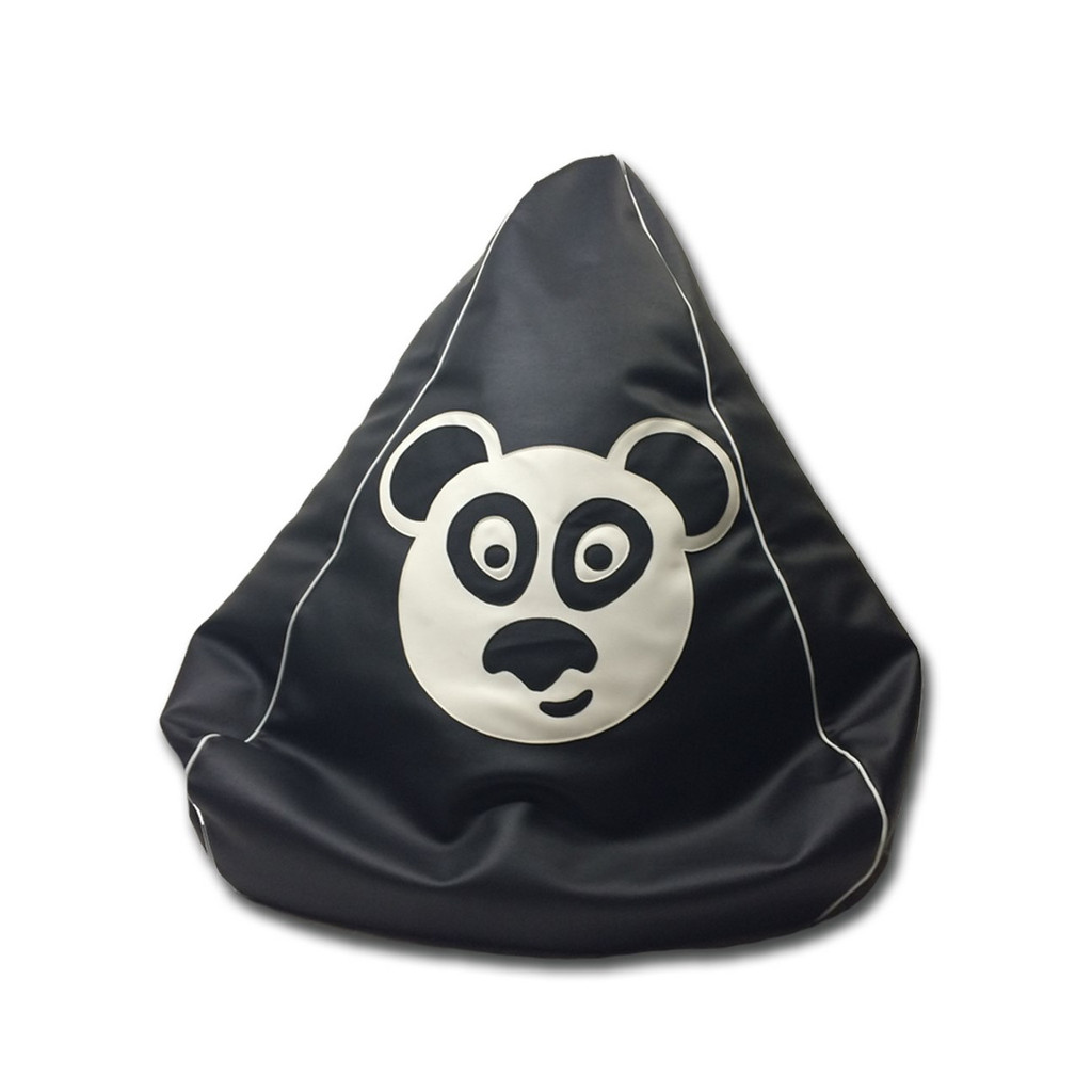 Panda Bean Bag in black