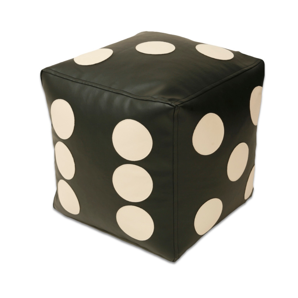Dice Poof in black