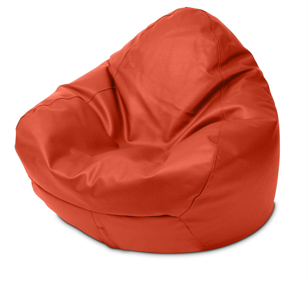Classic Queen Size Bean Bag in paprika
