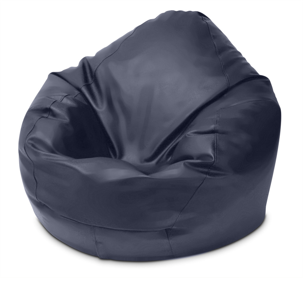 Classic King Size Bean Bag in navy