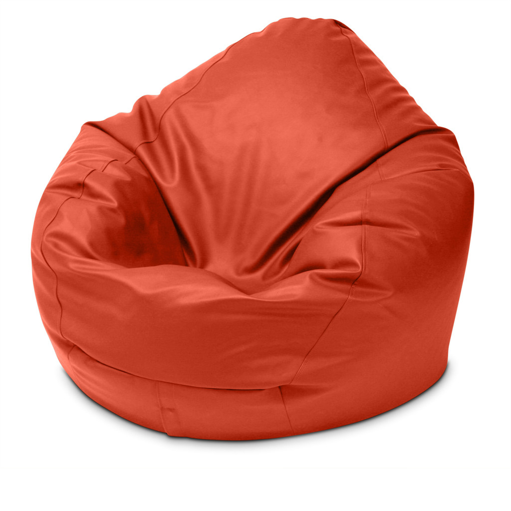 Classic King Size Bean Bag in paprika