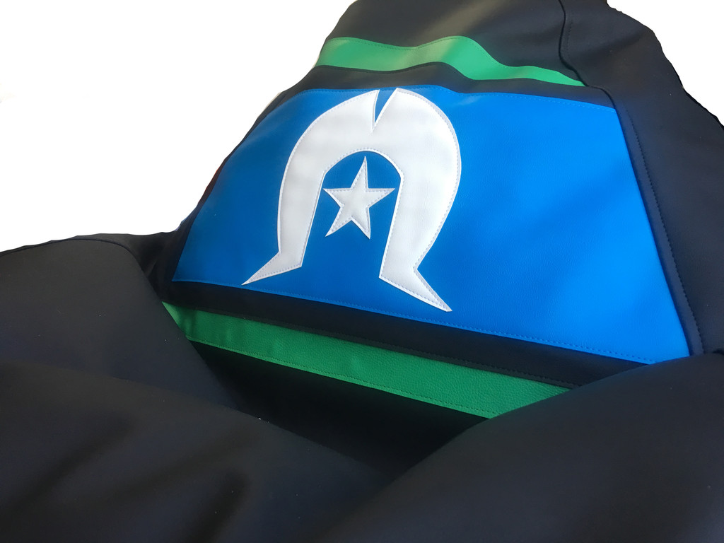 Torres Strait Flag Bean Bag