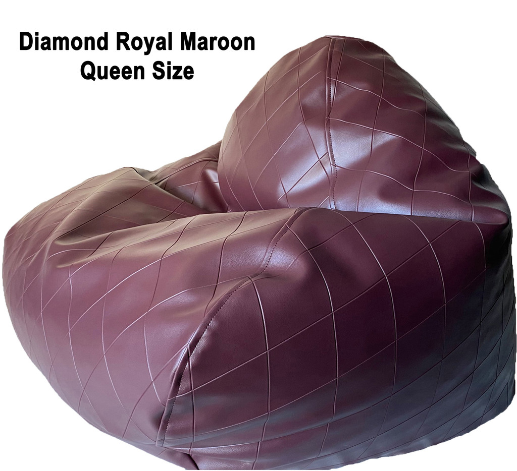 Diamond Royal Queen size in Maroon