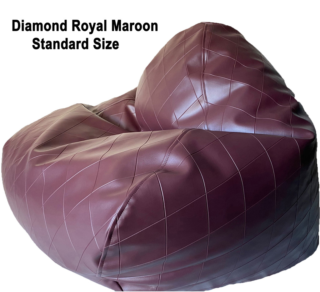 Diamond Royal Standard Size in Maroon