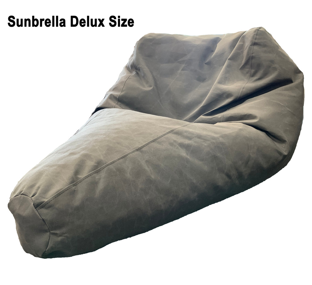 Sunbrella Outdoor Delux Size Bean Bag in assorted colours