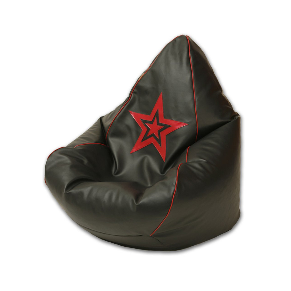 Neo Bean Bag with red star