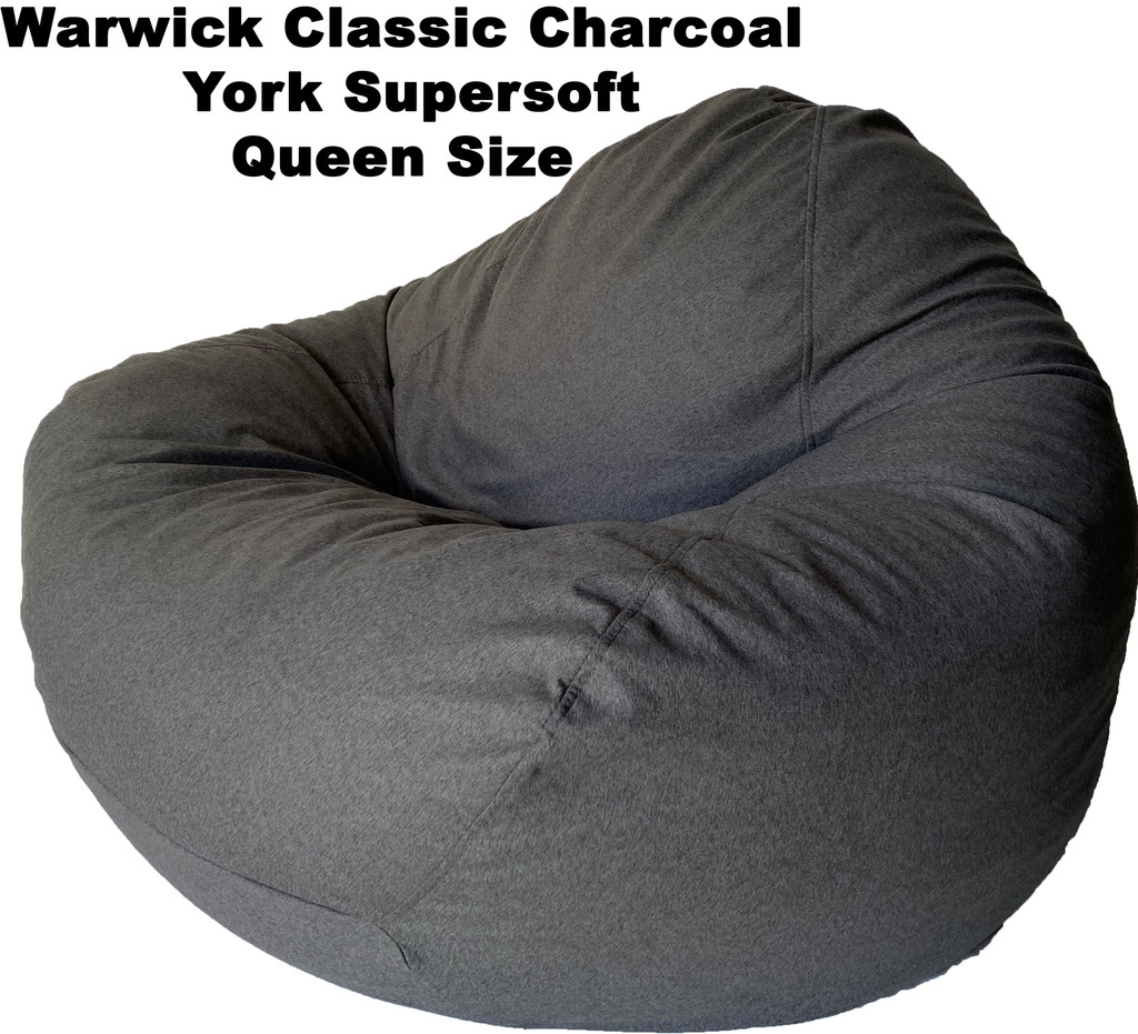 Warwick Classic Charcoal York Supersoft Queen Size