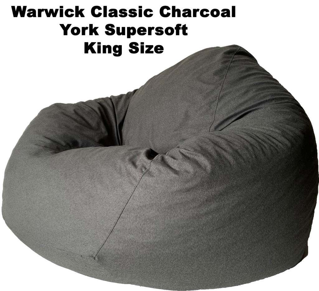 Warwick Classic Charcoal York Supersoft King Size