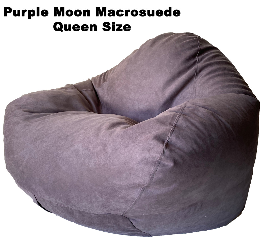 Purple Moon Macrosuede Queen Size