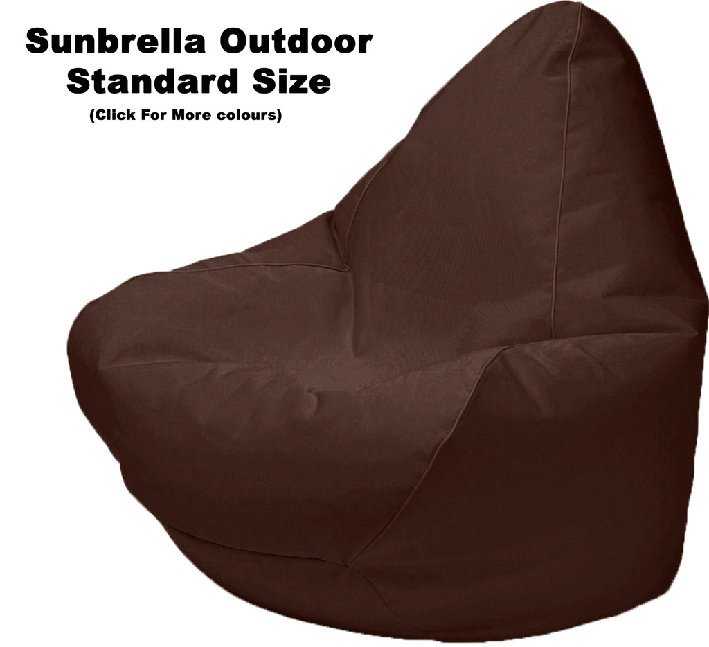 Sunbrella Outdoor Standard Size Bean Bag In Assorted Colours