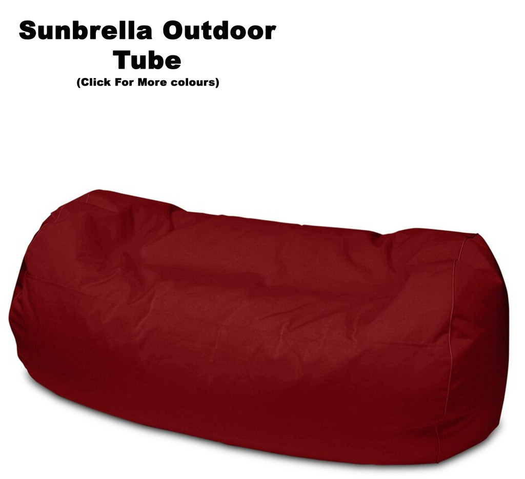 Sunbrella Outdoor Tube Bean Bag In Assorted Colours
