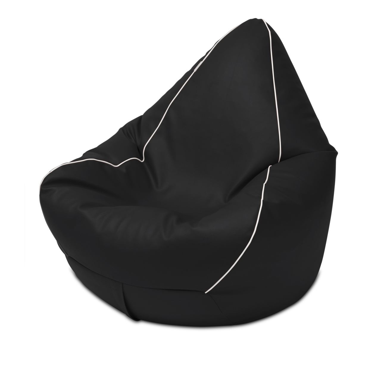 Retro Bean Bag in black