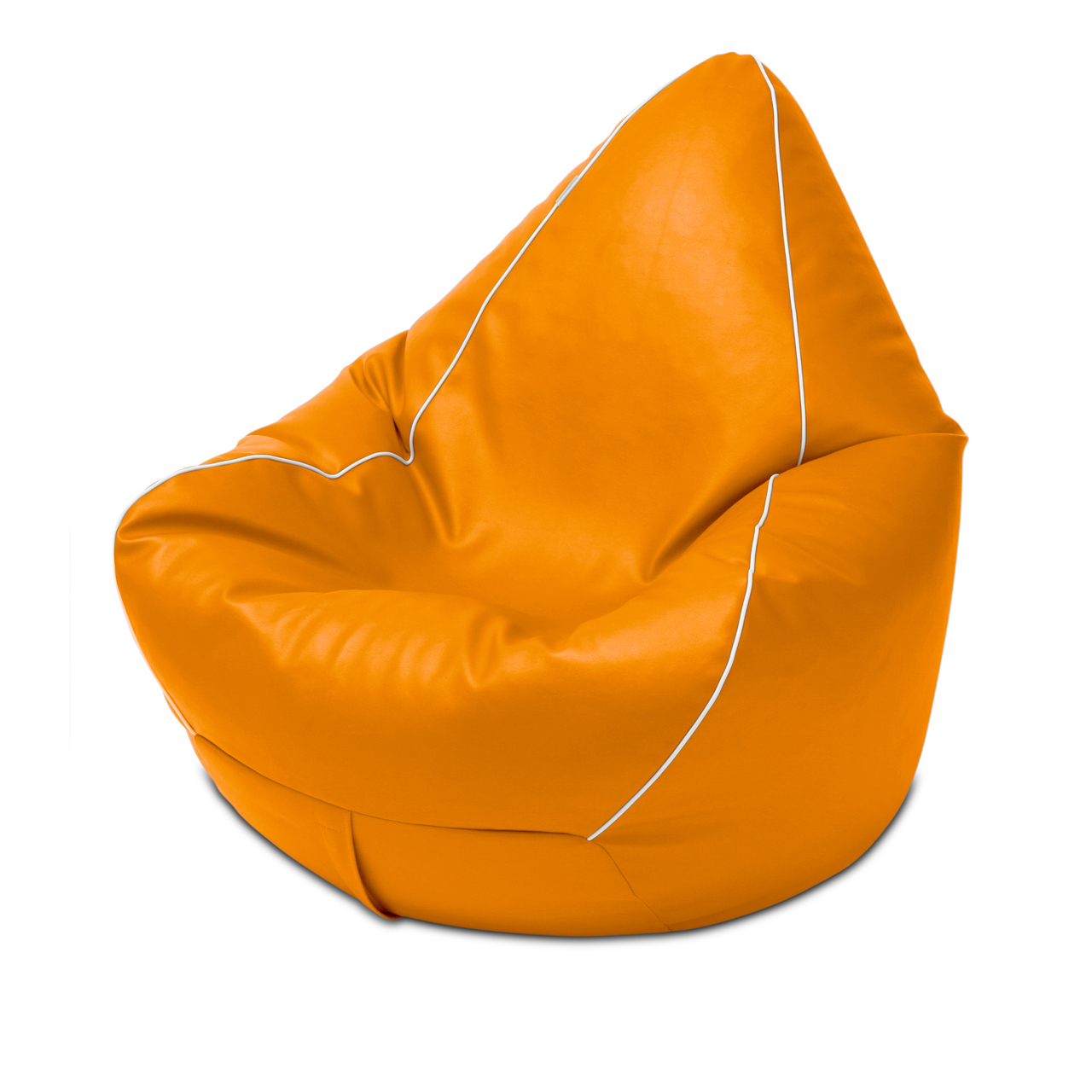 Retro Bean Bag in orange