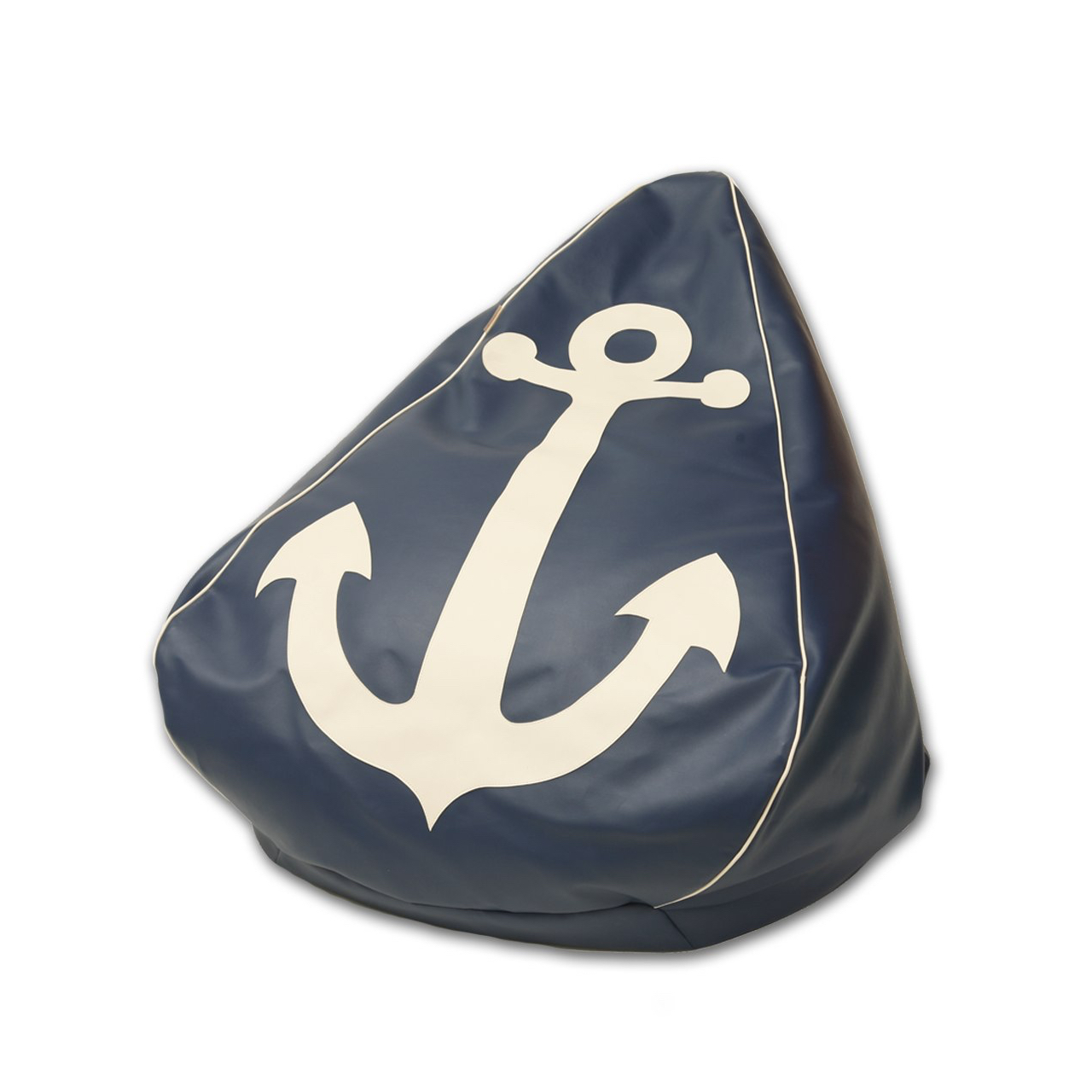 Anchor Bean Bag in navy