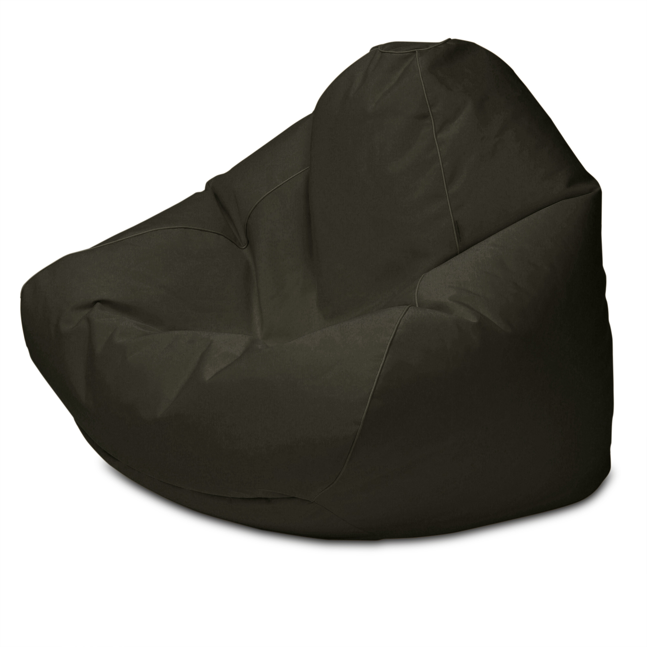 Sunbrella Outdoor Queen Size Bean Bag in charcoal tweed
