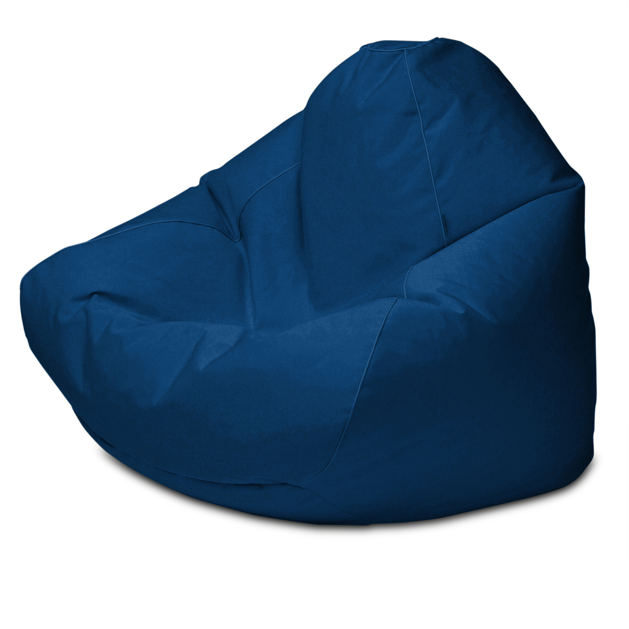 Sunbrella Outdoor Queen Size Bean Bag in ocean blue