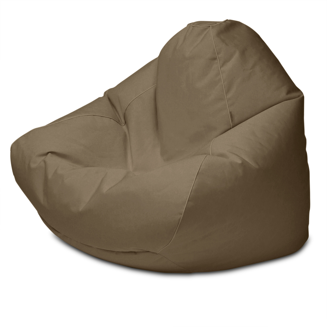 Sunbrella Outdoor Queen Size Bean Bag in linen tweed